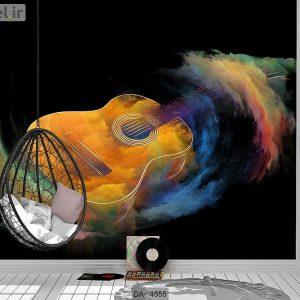 پوستر دیواری طرح گیتار کد DA-4555