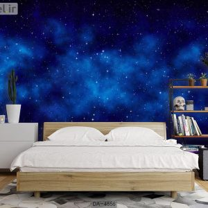 پوستر دیواری طرح کهکشان کد DA-4556