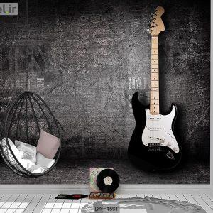 پوستر دیواری طرح گیتار کد DA-4561