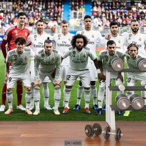 پوستر دیواری تیم رئال مادرید کد DA-4566
