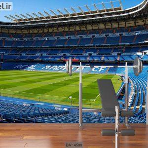 پوستر دیواری طرح استادیوم فوتبال کد DA-4580