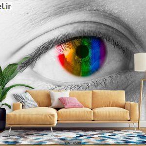 پوستر دیواری چشم کد DA-4588