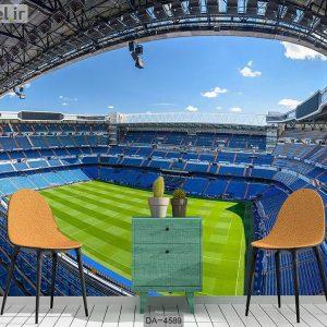 پوستر دیواری طرح استادیوم فوتبال کد DA-4589