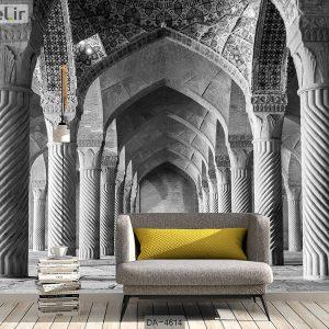 پوستر سه بعدی بنای سنتی ایرانی کد DA-4614
