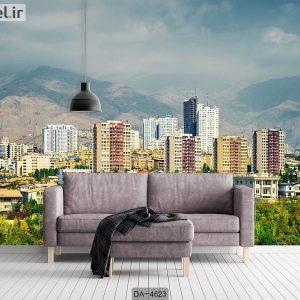 پوستر دیواری طرح شهر تهران کد DA-4623