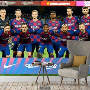 پوستر دیواری تیم بارسلونا کد DA-4624