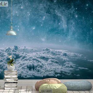 پوستر دیواری طرح آسمان شب کد DA-4631