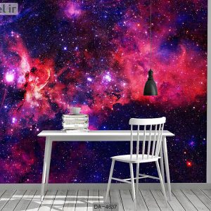 پوستر دیواری طرح کهکشان کد DA-4637