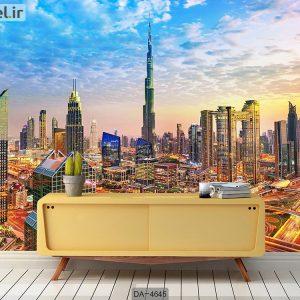 پوستر دیواری طرح شهر دبی کد DA-4645