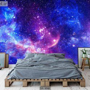 پوستر دیواری طرح کهکشان کد DA-4646