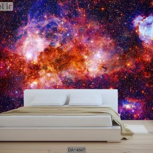 پوستر دیواری طرح کهکشان کد DA-4647