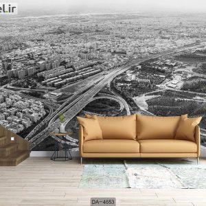 پوستر دیواری طرح شهر تهران کد DA-4653