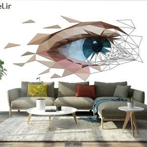 پوستر دیواری طرح چشم کد DP-4688