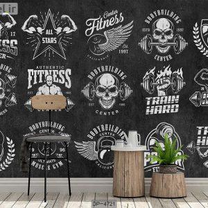 پوستر دیواری باشگاه بدنسازی کد DP-4721