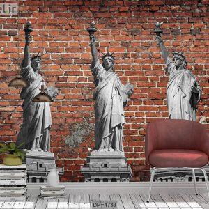 پوستر دیواری مجسمه آزادی کد DP-4738
