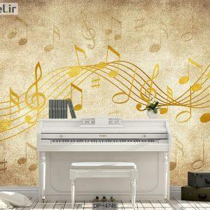پوستر دیواری طرح موسیقی کد DP-4745