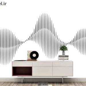 پوستر دیواری طرح موسیقی کد DP-4747