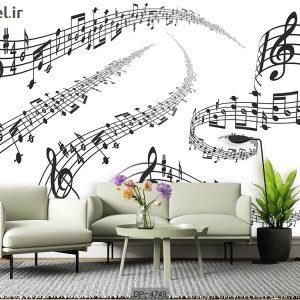 پوستر دیواری طرح موسیقی کد DP-4749