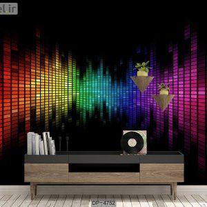 پوستر دیواری طرح موسیقی کد DP-4752
