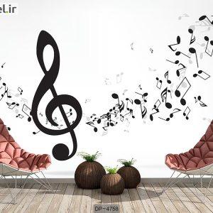 پوستر دیواری طرح موسیقی کد DP-4758