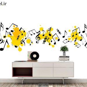 پوستر دیواری طرح موسیقی کد DP-4762