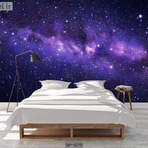 پوستر دیواری طرح کهکشان کد DP-4775