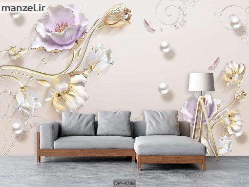 پوستر دیواری گل کد DP-4788