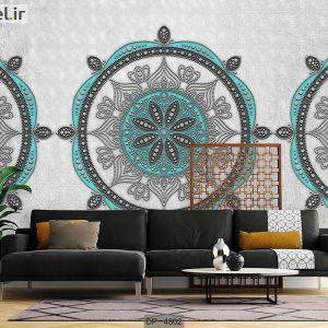 پوستر دیواری طرح کلاسیک کد DP-4802