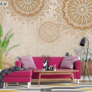 پوستر دیواری طرح کلاسیک کد DP-4805